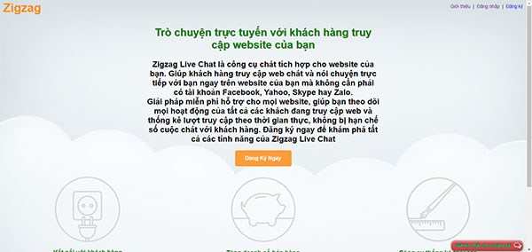 live chat cho website